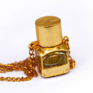 Perfume bottle with chain necklace | ALMAH Scented Jewelry