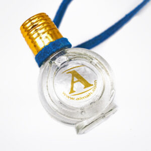 Aquamarine fragranced pendant | ALMAH Scented Jewelry