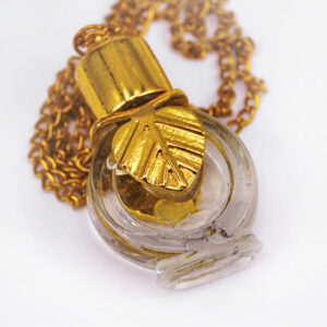 Vert bamboo perfume bottle | ALMAH Scented Jewelry