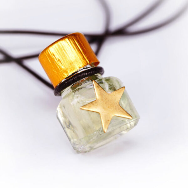 Bamboo perfume bottle necklace | ALMAH Scented Jewelry
