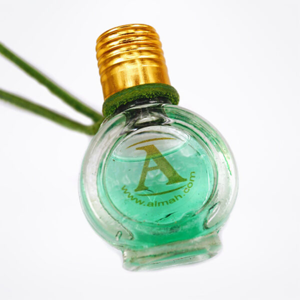 Emerald Green perfume bottle | Colourtherapy by ALMAH