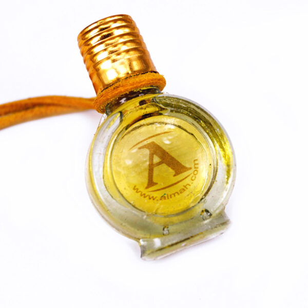 Golden Yellow perfume bottle | Colourtherapy by ALMAH