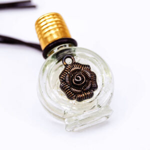 Neroli perfume bottle necklace | ALMAH Scented Jewelry