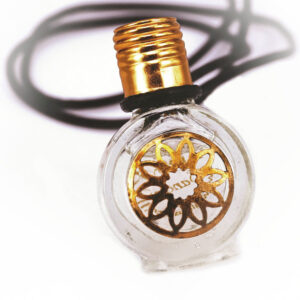 Sandalwood perfume bottle necklace | ALMAH Scented Jewelry