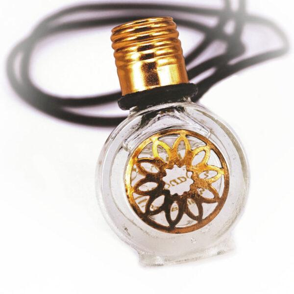 Sandalwood perfume bottle necklace | ALMAH Scented Jewelry