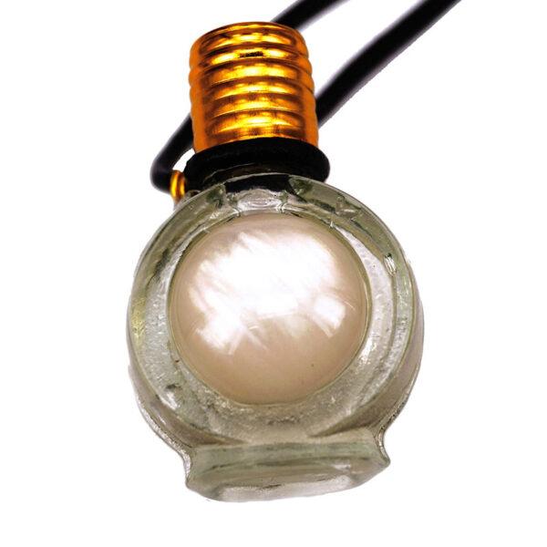 Sandalwood perfume bottle necklace   ALMAH Scented Jewelry